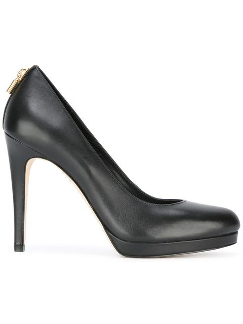 Antoinette Leather Courts, Black
