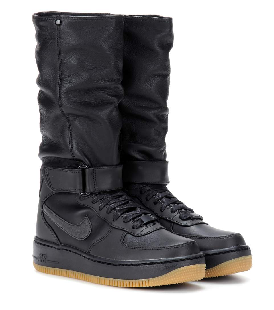 Upstep Sneaker Llack In Warrior Boots Nike Black Leather Modesens aHZpxq