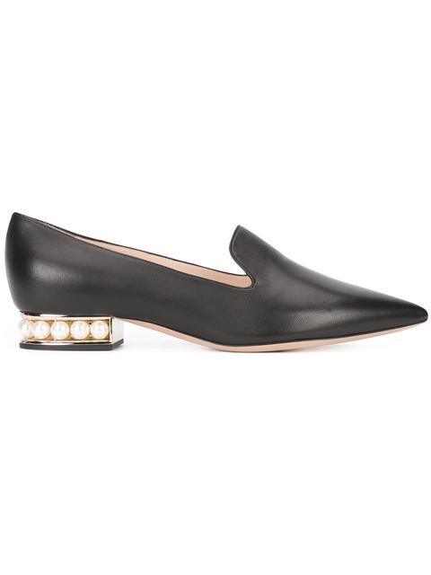 NICHOLAS KIRKWOOD Casati Leather Loafers - Black Size 10.5