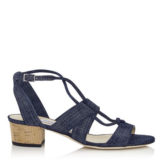Jimmy Choo Margo Denim Sandals