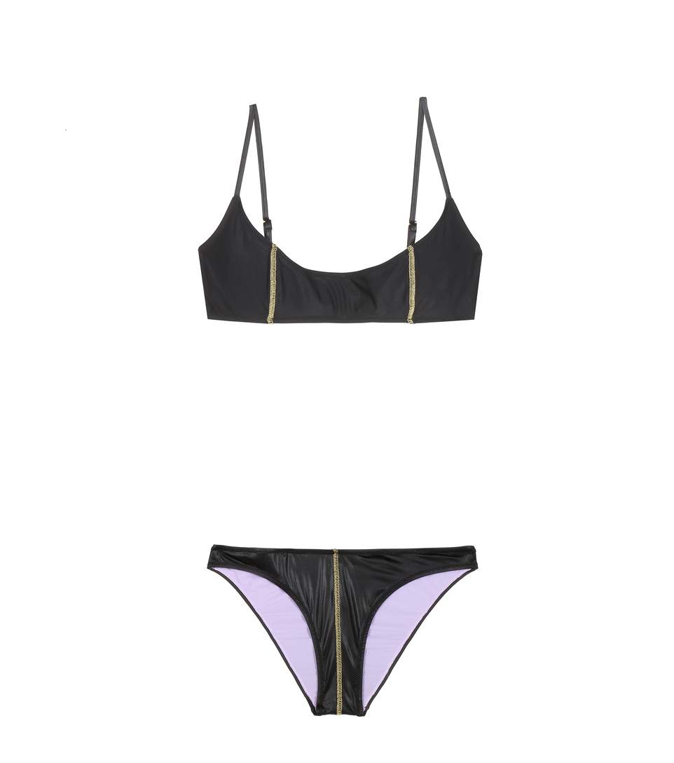 GREGOR PIROUZI Kate Bikini in Black