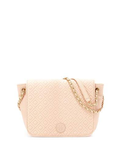 8e52323d52f7 TORY BURCH MARION QUILTED SMALL FLAP SHOULDER BAG