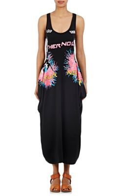 Footlocker Cheap Price Stella Mccartney Woman Olwen Cutout Printed Cotton-jersey Dress Black Size 38 Stella McCartney For Sale Top Quality Cheapest Discount Nicekicks Grey Outlet Store Online 2Khir