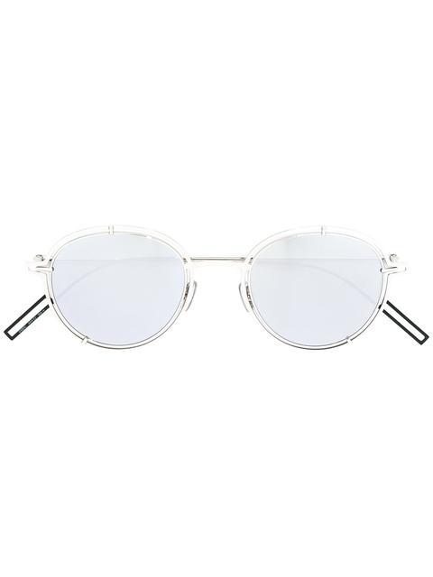 Dior Eyewear Round Frame Sunglasses - Metallic