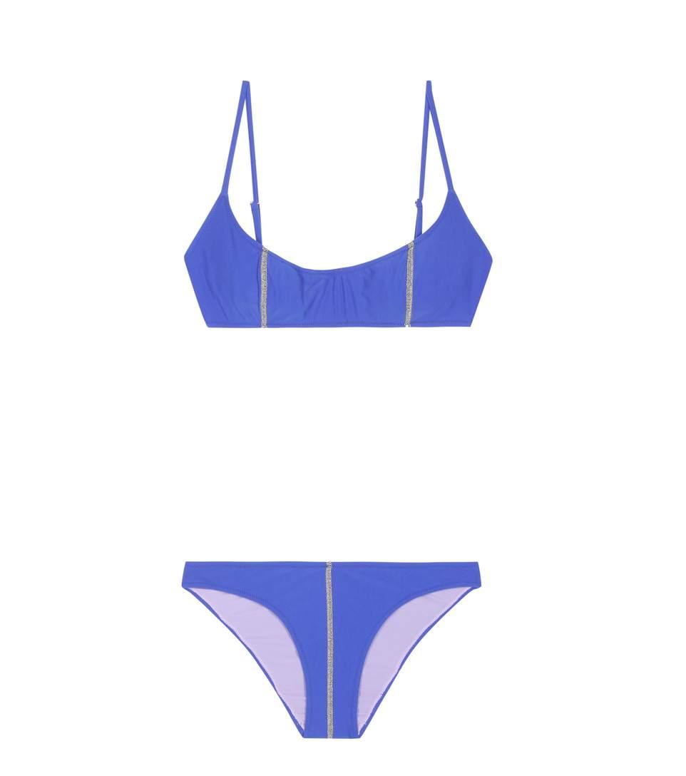 GREGOR PIROUZI Kate Bikini in Blue