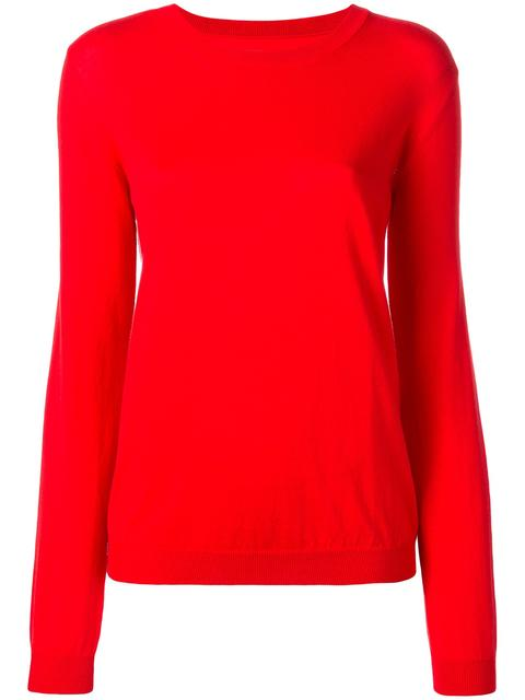 MAISON MARTIN MARGIELA Red Gauge 14 Sweater