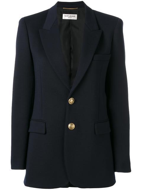 SAINT LAURENT Classic Single Breasted Jacket