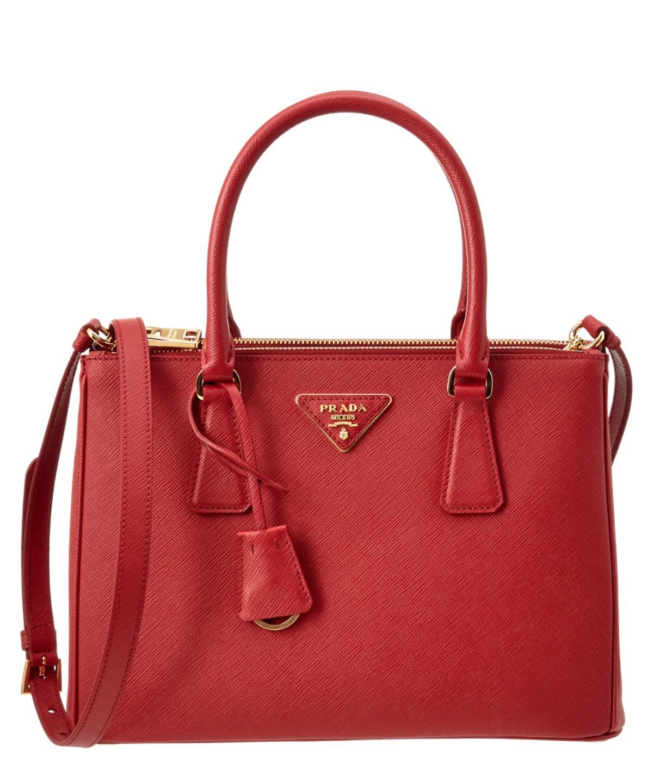 ead24482fdbe PRADA Small Galleria Saffiano Leather Tote