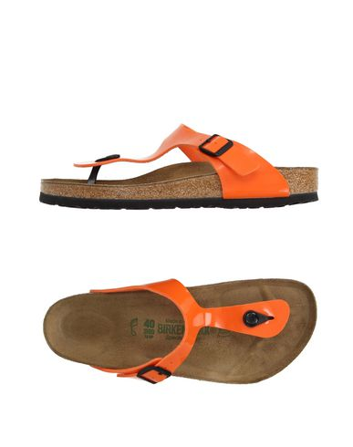 BIRKENSTOCK Flip Flops in Orange