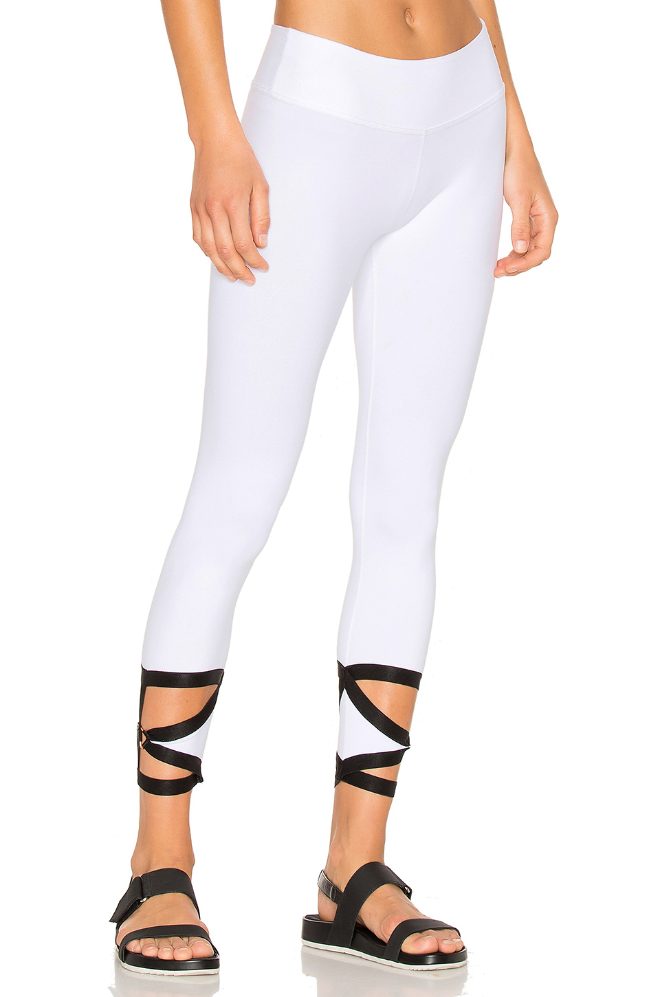 BEYOND YOGA Live Free Or Tie Hard Legging in White
