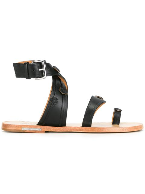 Isabel Marant Leather Toe-Strap Sandals