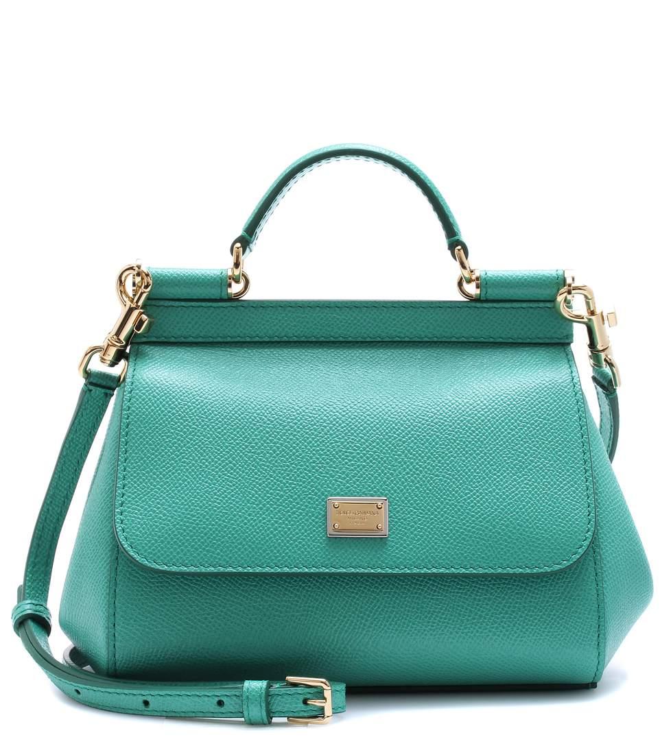 Dolce   Gabbana Sicily Mini Leather Shoulder Bag In Miet   ModeSens fb7130feb1