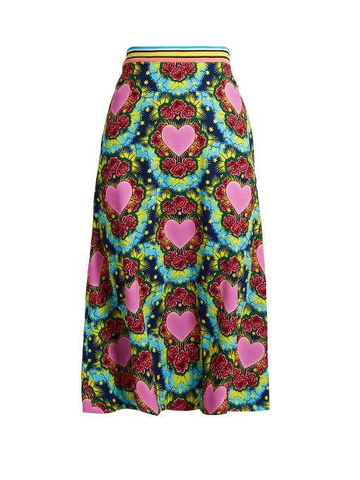 House Of Holland printed skirt Free Shipping For Sale Buy Online New Clearance Affordable Discount Wiki Clearance Online Amazon 7J8LDI6iy
