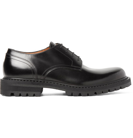 cheap limited edition wiki cheap price Dries Van Noten Leather Derby Shoes sale clearance store quality original S8hfeO84q