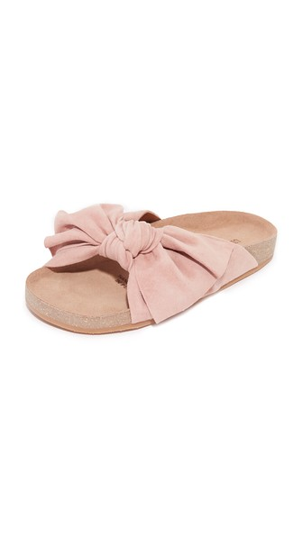 Ulla Johnson Suede Bow Sandals official cheap price outlet shopping online fashion Style cheap price pictures cheap online fast delivery online eLukk