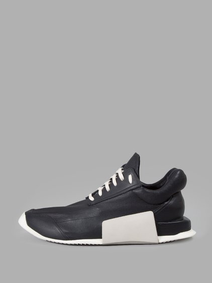 FOR ADIDAS Leather LEVEL RUNNER LOW Sneakers Spring/summer Rick Owens iYtCUL