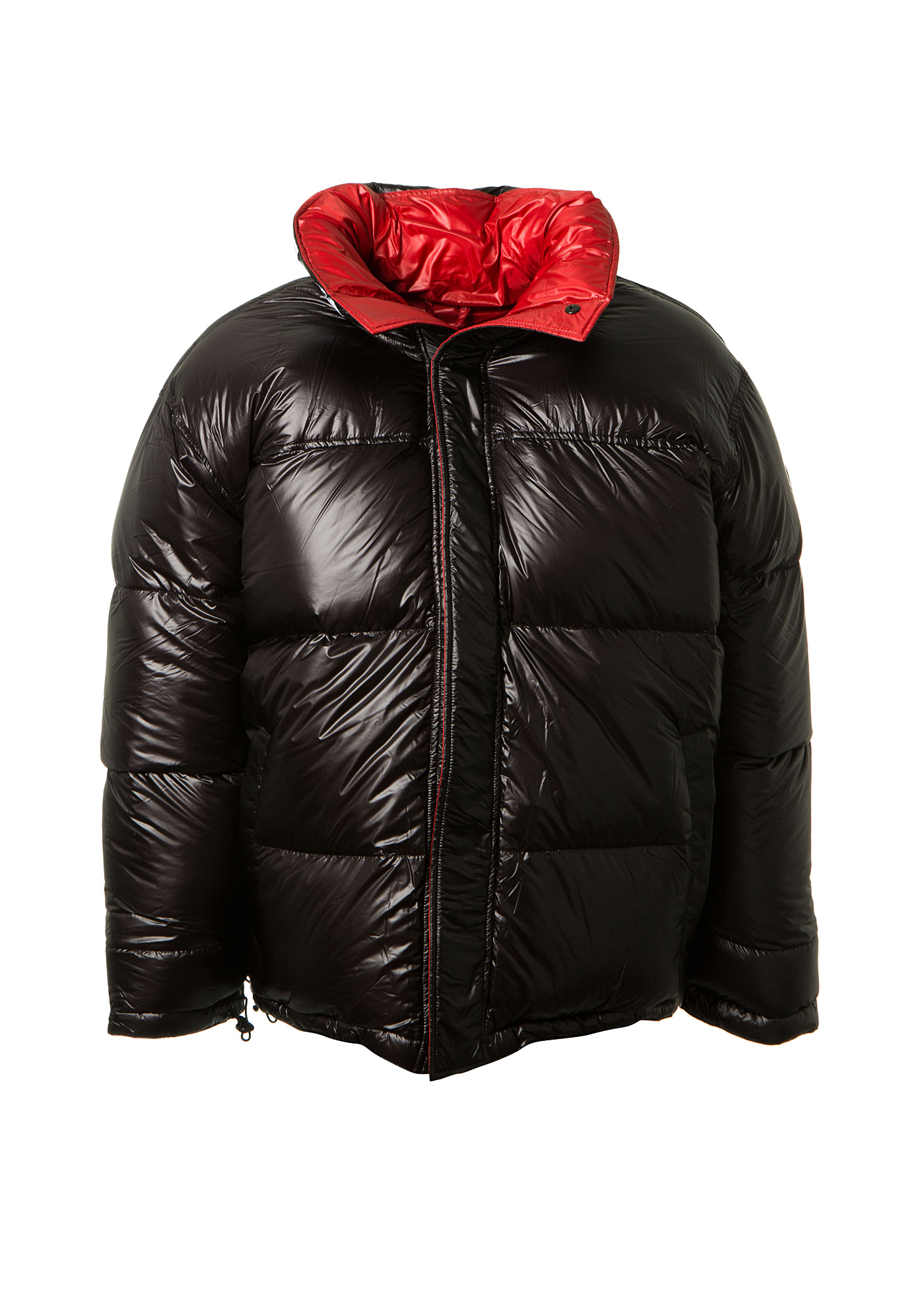 VETEMENTS X Canada Goose Black And Red Reversible Down Jacket