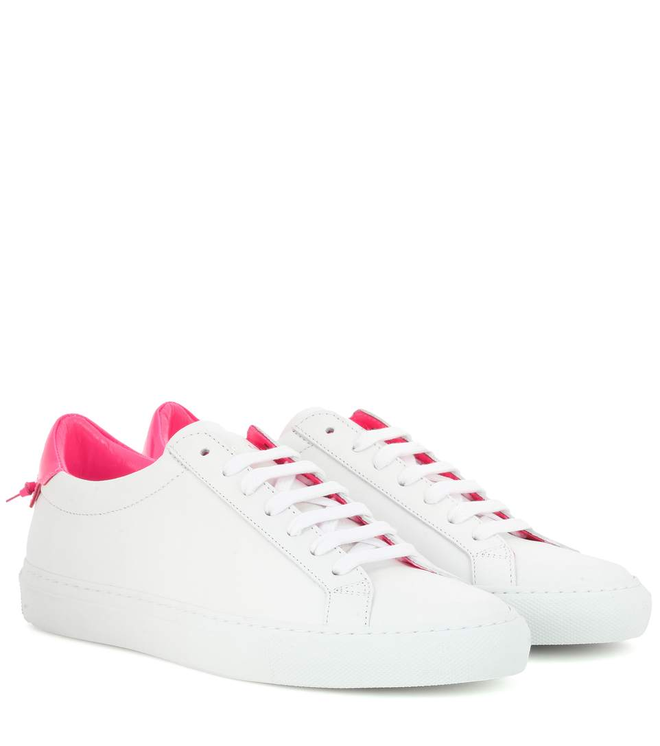 Sneakers smooth leather Logo blue white Givenchy Sale Wide Range Of Supply Cheap Price Free Shipping 100% Original dIse2