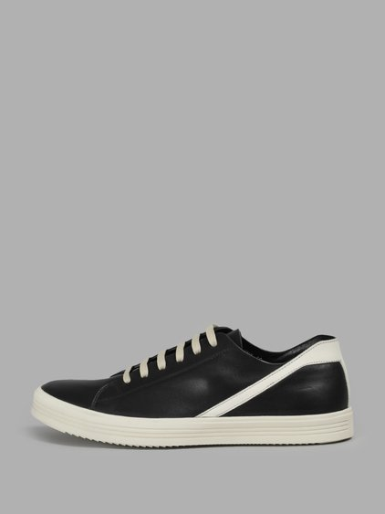 Geothrasher Leather Sneakers - GrayRick Owens