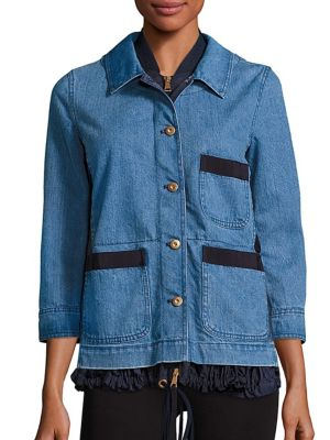 MONCLER HOUX DENIM JACKET