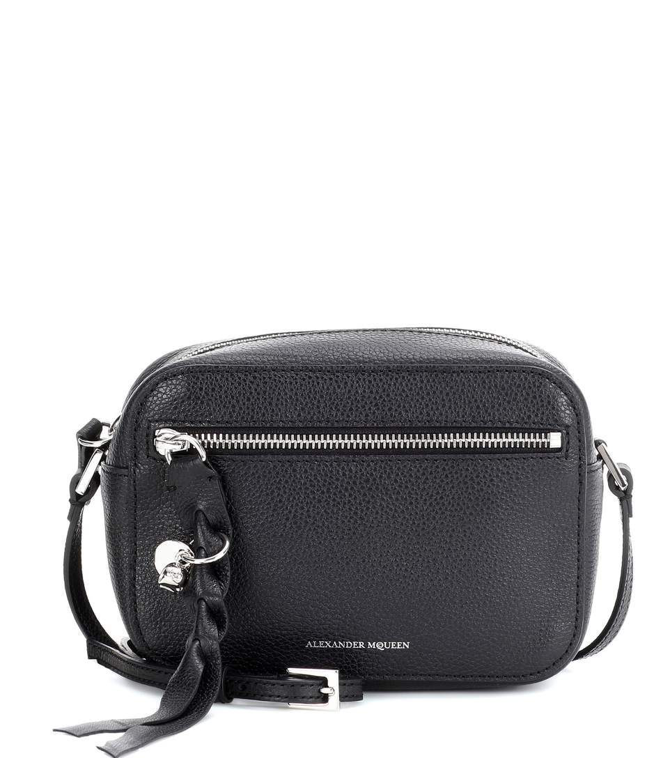 camera crossbody bag - Black Alexander McQueen