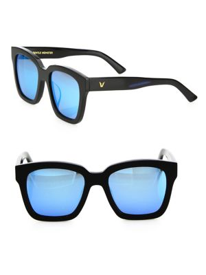 d308326a97 GENTLE MONSTER Dreamer Hoff 53Mm Mirrored Square Sunglasses