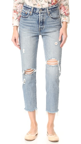 Wedgie Straight Jeans In Lost Inside