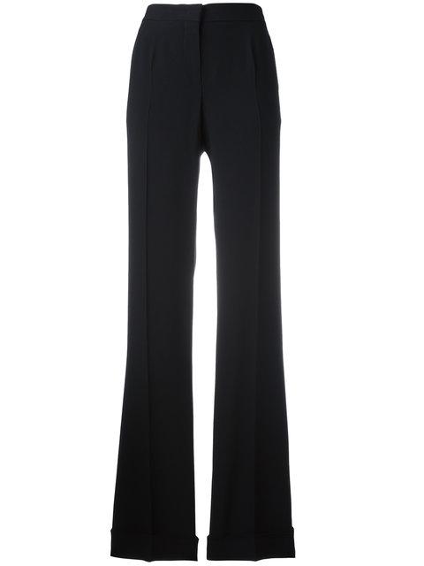 Flared Trousers, Black