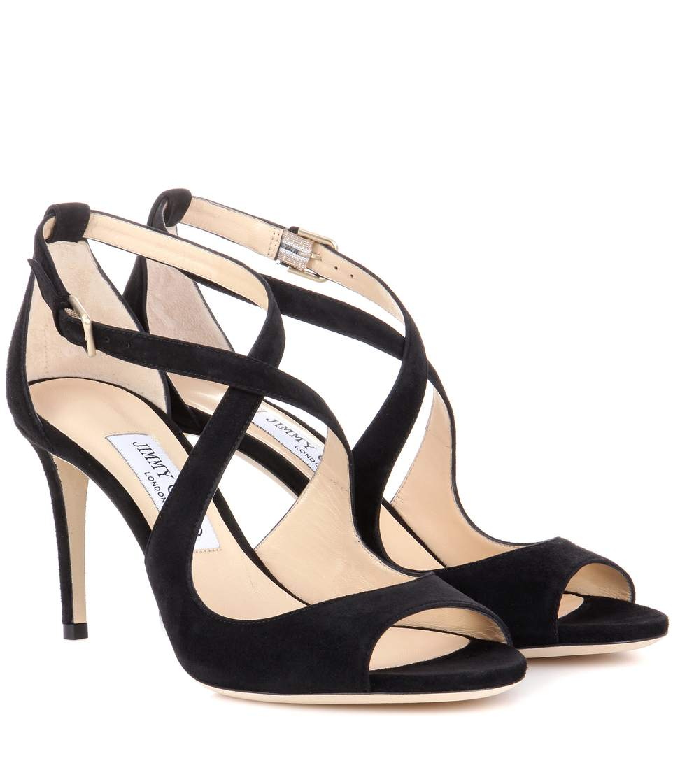 Jimmy Choo Unity Embossed Sandals Cheap Get To Buy Shop Offer Sale Online Brand New Unisex Cheap Online Clearance Clearance ZUd10Kwkhd