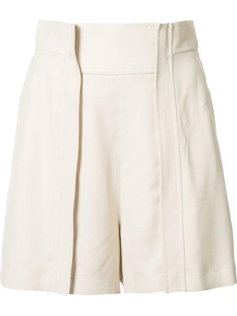 CHLOÉ Pleat Detail Shorts