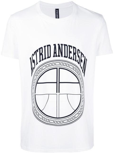 ASTRID ANDERSEN Astrid Andersen Essential Logo T-Shirt - White