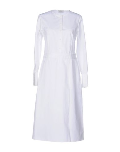 PROTAGONIST Knee-Length Dress in White