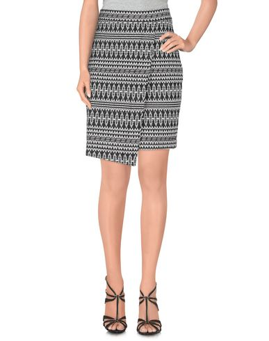THREE DOTS Knee Length Skirts in Black