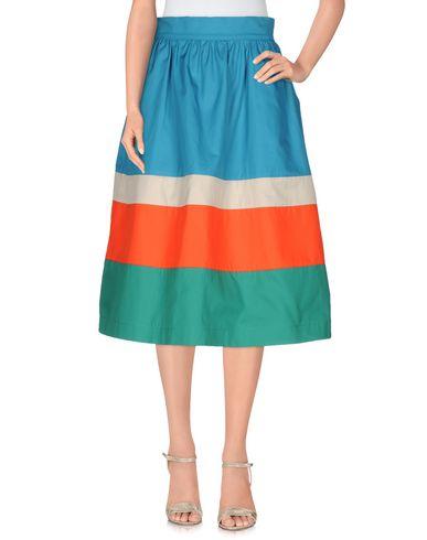 ANNA SAMMARONE Midi Skirts in Azure