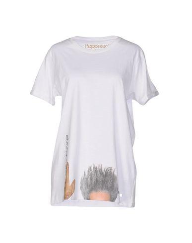 HAPPINESS T-SHIRTS, WHITE
