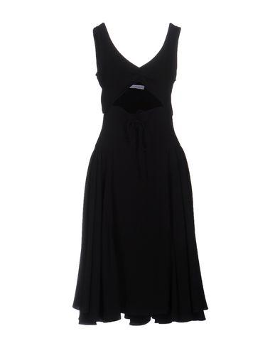 J.W.ANDERSON KNEE-LENGTH DRESS, BLACK