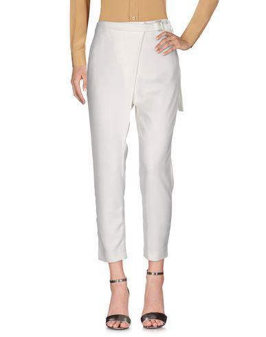 By Malene Birger Casual Pants, Ivory