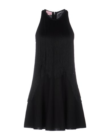 Giamba Short Dress, Black
