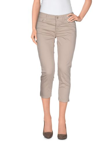 Dondup Cropped Pants & Culottes, Beige