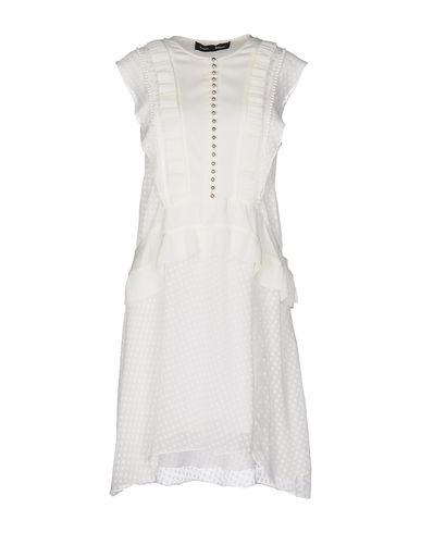 Proenza Schouler Short Dress, White