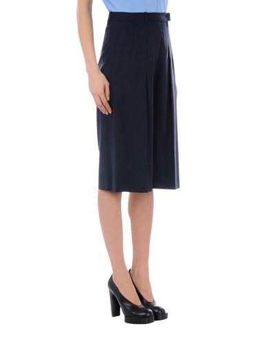 Jil Sander 3/4 Length Skirt, Dark Blue