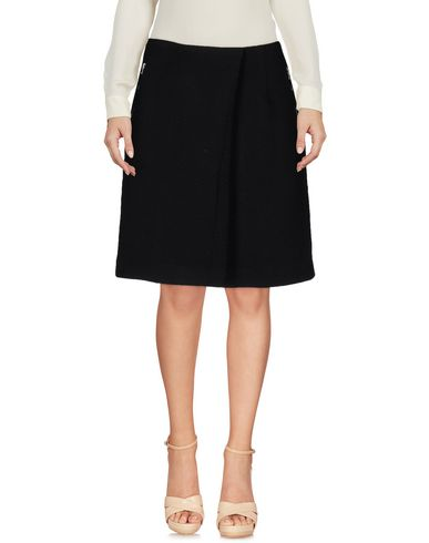 Acne Studios Knee Length Skirt, Black