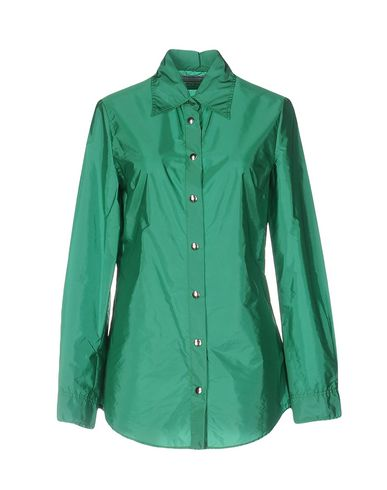 Miu Miu Solid Color Shirts & Blouses, Green