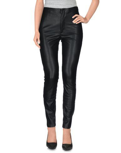 MOTHER CASUAL PANTS, BLACK