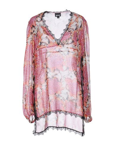 Just Cavalli Floral Shirts & Blouses In Orange