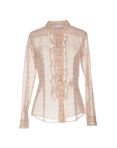 RED VALENTINO FLORAL SHIRTS & BLOUSES, PINK
