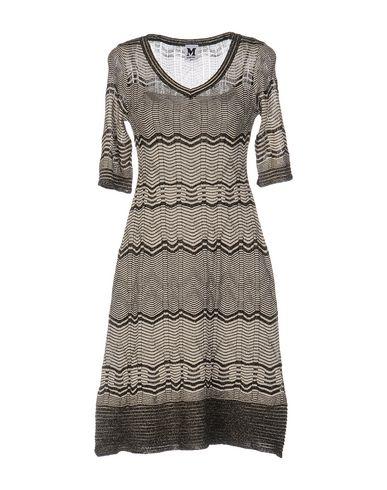 M Missoni Short Dress, Light Grey