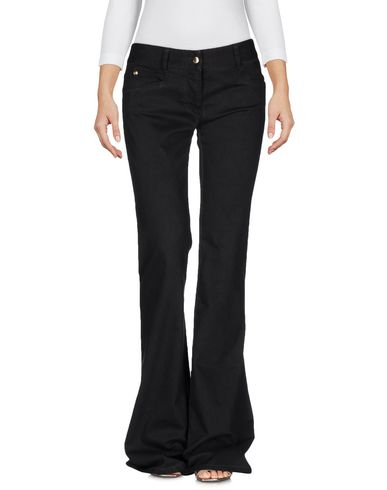 JUST CAVALLI DENIM PANTS, BLACK