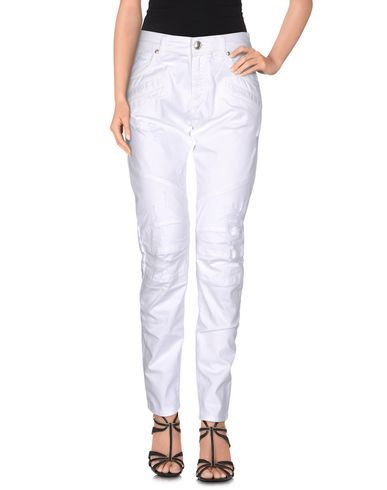 Pierre Balmain Denim Pants, White