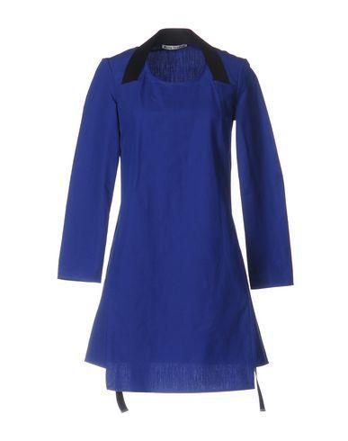 ACNE STUDIOS SHORT DRESS, BLUE